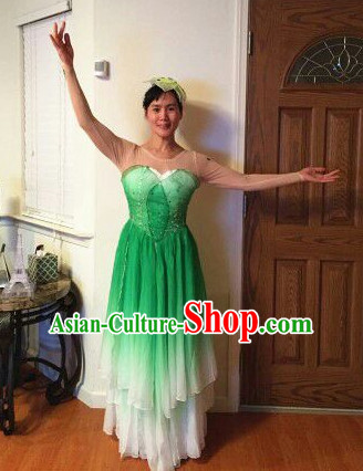 Traditional Jasmine Flower Dance Costumes for Women