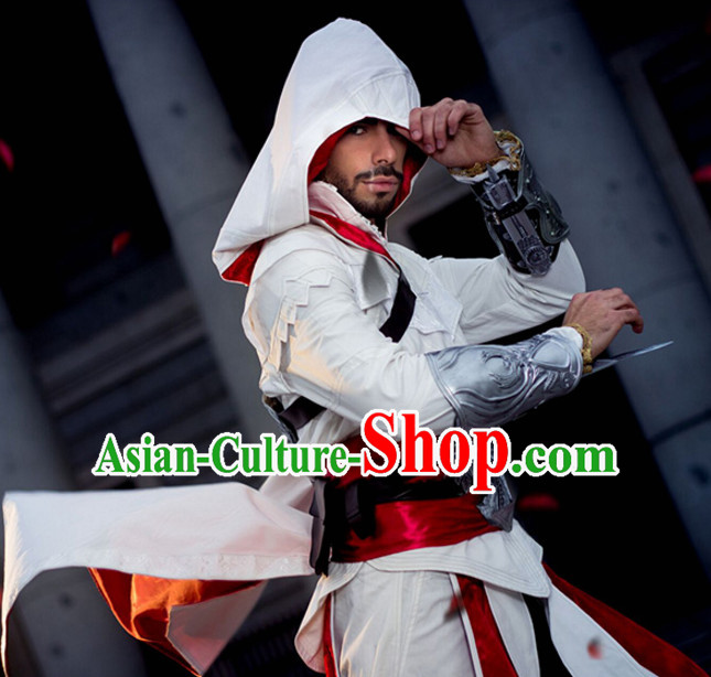 Chinese Superhero Cosplay Costumes Complete Set for Men