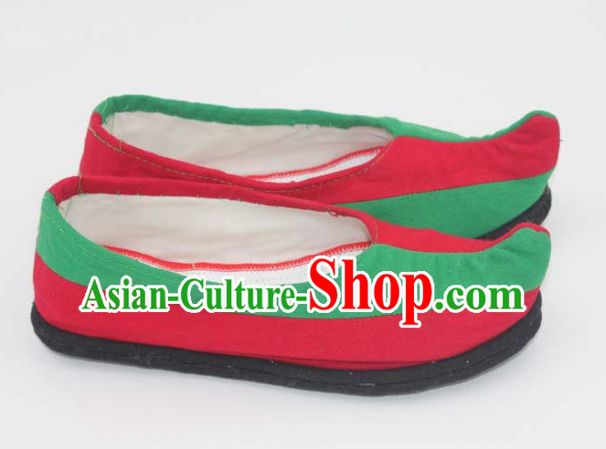 Handmade Chinese Ancient Bow Shoes for Women and Girls