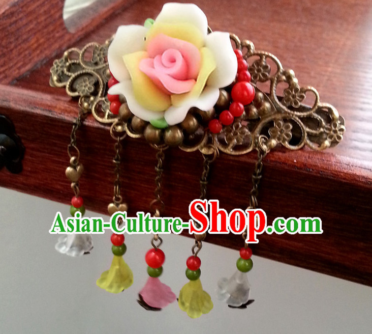 Ancient Chinese Handmade Princess Headdress Hair Jewelry for Women