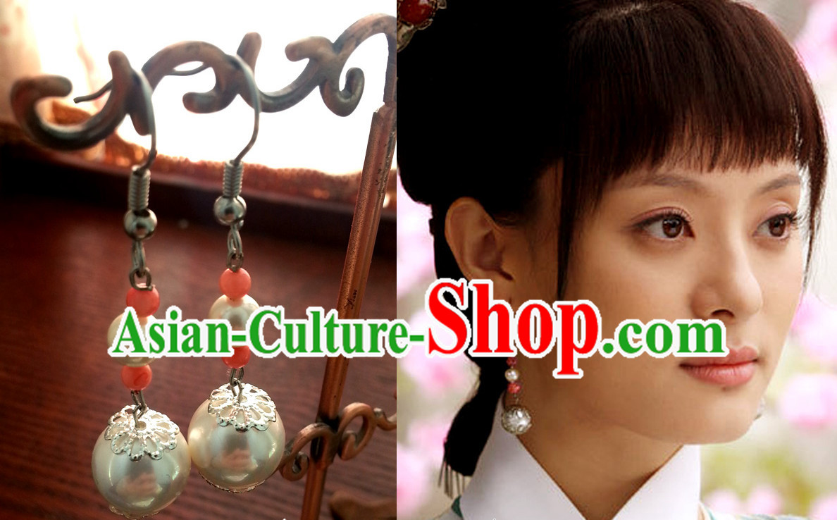 Ancient Chinese Handmade Princess Earrings
