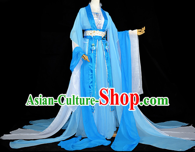 Chinese Traditional Empress Garment Complete Set for Girls Women
