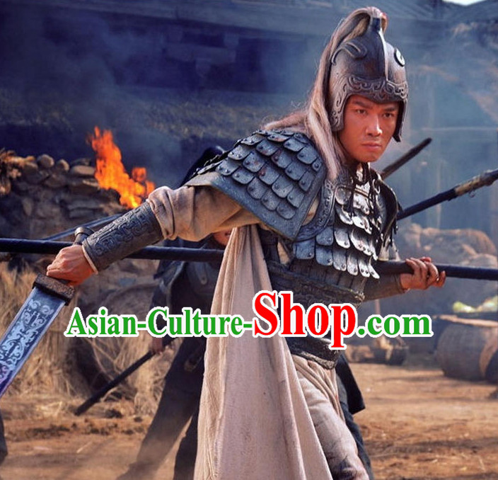 Asian Ancient Chinese Superhero Zhao Zilong Warrior Body Armor for Sale Complete Set for Men or Boys