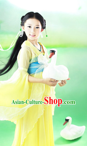 Chinese Ancient Clothing Complete Set for Kids
