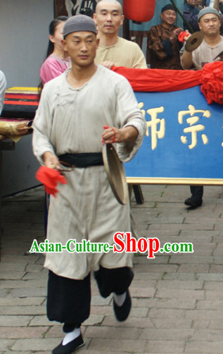 Ancient Chinese Style Peasant Costumes Complete Set for Men or Boys
