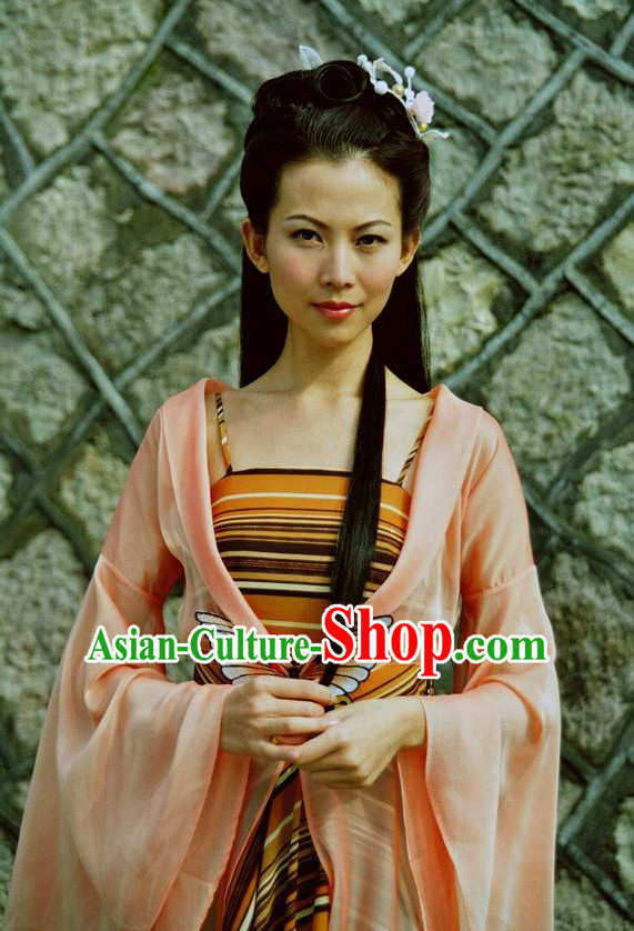 Custom Made Made to Order Traditional Chinese Style Ancient China Hanfu Clothing Garment Clothes Suits Dresses Complete Set for Women Children