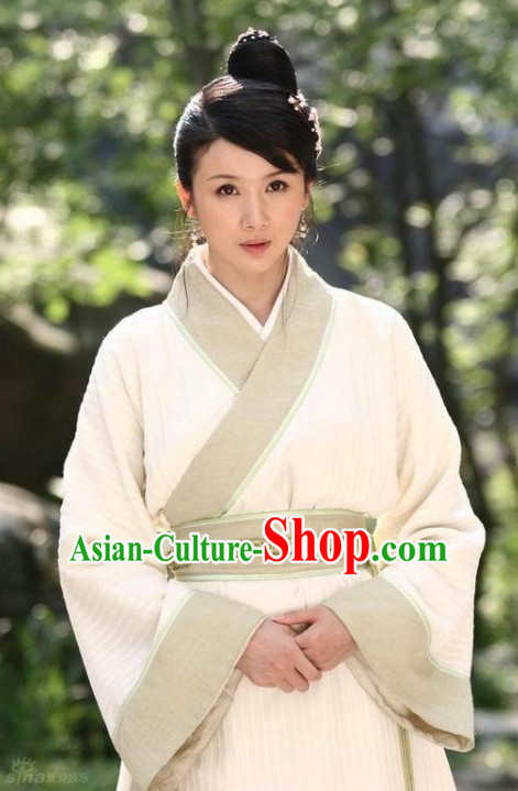 Ancient Chinese Style Peasant Costumes Complete Set