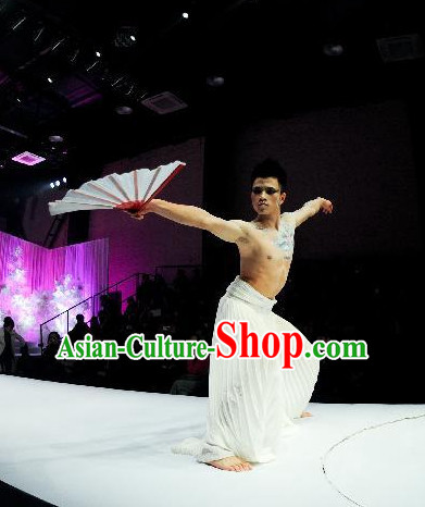 Traditional Chinese Classical Stage Dance Costumes for Men