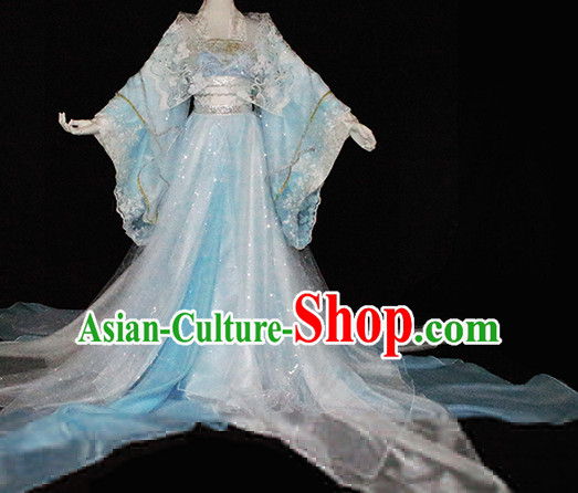 Imperial Royal Ancient Chinese Princess Clothing Complete Set for Women