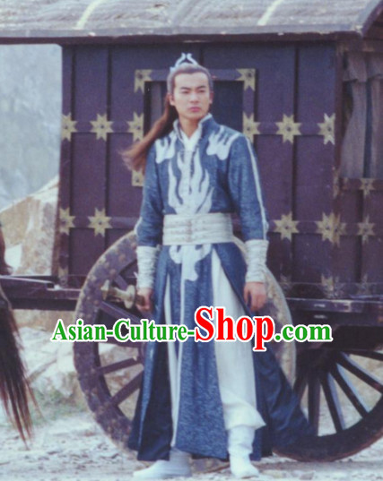 Chinese Knight Hanfu Dress Clothing National Dress Ancient China Clothing Traditional Chinese Outfit Chinese Costumes for Men