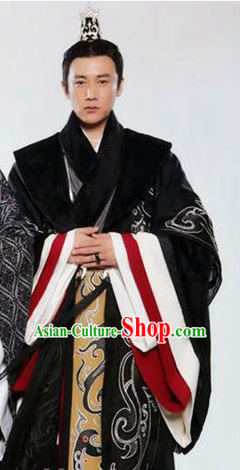 Ancient Chinese Imperial Prince Garment Complete Set for Men