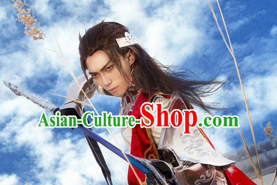 Ancient Chinese Style General Cosplay Costumes Complete Set for Men