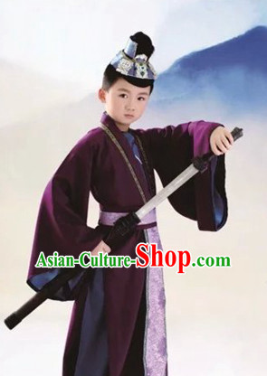 Ancient Chinese Prince Costumes Complete Set for Boys Children