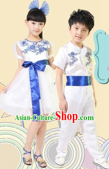 Chinese Dance Dress for Children Boys