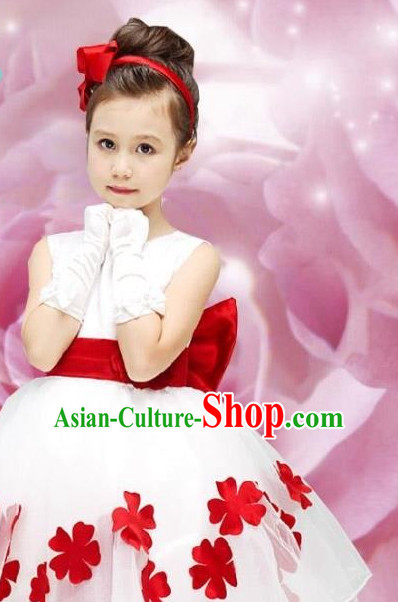 Chinese Princess Dance Dress for Children Boys
