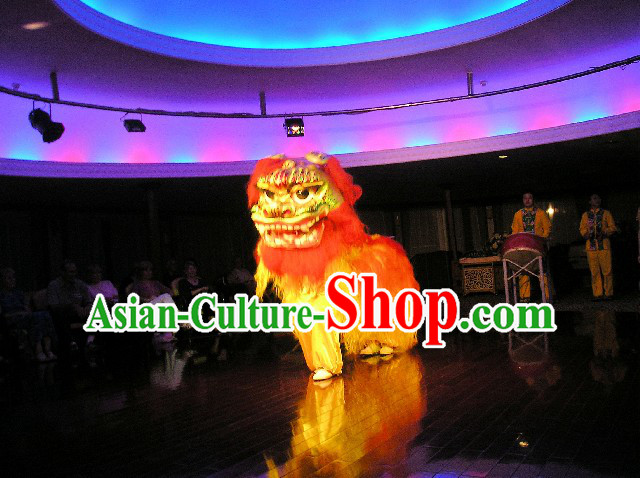 Chinese Traditional Northern Lion Dancing Costume Complete Set