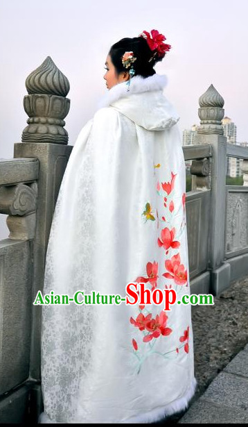 Ancient Chinese Clothing Dress Garment Cape for Women