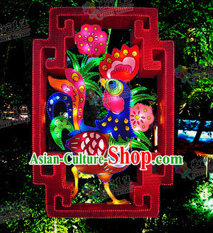1 Meter Large Handmade Rooster Lantern Stage Performance Costumes for Display