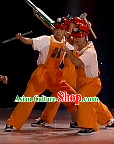 Chinese Stage Worker Dancing Dancewear Costumes Dancer Costumes Dance Costumes Chinese Dance Clothes Traditional Chinese Clothes Complete Set