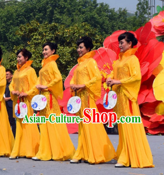 Chinese Classical Mandarin Costumes Complete Set for Women