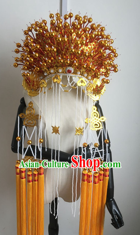 Chinese Traditional Opera Phoenix Coronet Hat
