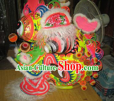 Top Chinese Traditional Handmade Kylin Dancing Costumes Complete Set