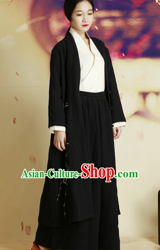 Traditional Chinese Style Hanfu Dresses Complete Set for Women