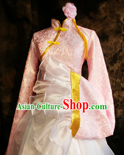 Custom Made APH Cosplay Costumes and Headwear Complete Set for Women or Girls