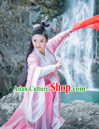 Traditional Chinese Swordswoman Dress Chinese Clothing Cloth China Attire Oriental Dresses for Women