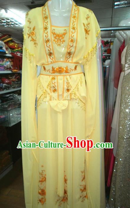 Ancient Chinese Stage Performance Classical Beauty Water Sleeves Dance Costumes