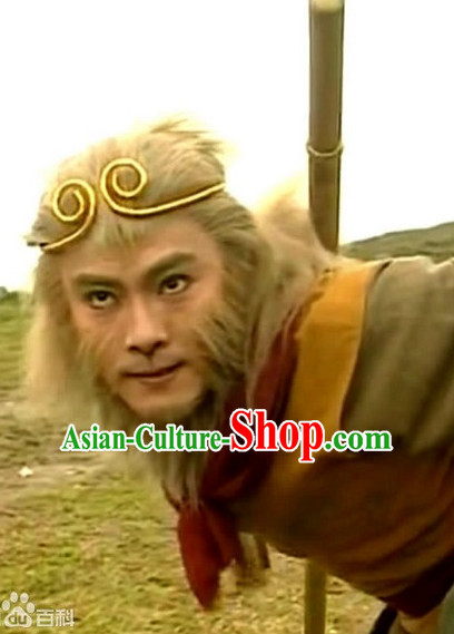 Traditional Monkey King Inhibiting Magic Phrase TV Drama Films Cosplay Props