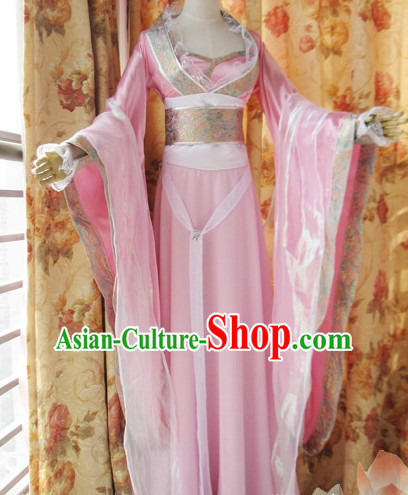 Ancient Chinese Style Fairy Costumes Clothing for Women