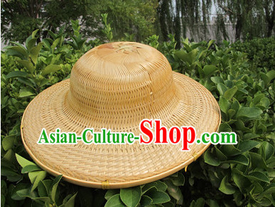 Original Traditional Chinese Dance Bamboo Hat Dancing Props for Adults and Children