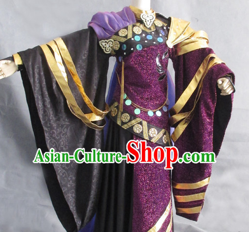 Chinese Imperial Clothing Cosplay Dresses National Costume Traditional Chinese Clothing Attire