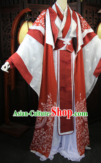 Chinese Imperial Clothing Cosplay Dresses National Costume Traditional Chinese Clothing Attire Complete Set