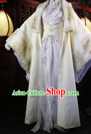 Chinese Imperial Prince Clothing Cosplay Dresses National Costume Traditional Chinese Clothing Attire Complete Set