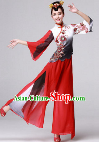 Chinese Classic Dance Costumes Traditional Chinese Clothing Dress Dancewear Dance Clothes Outfits Dresses