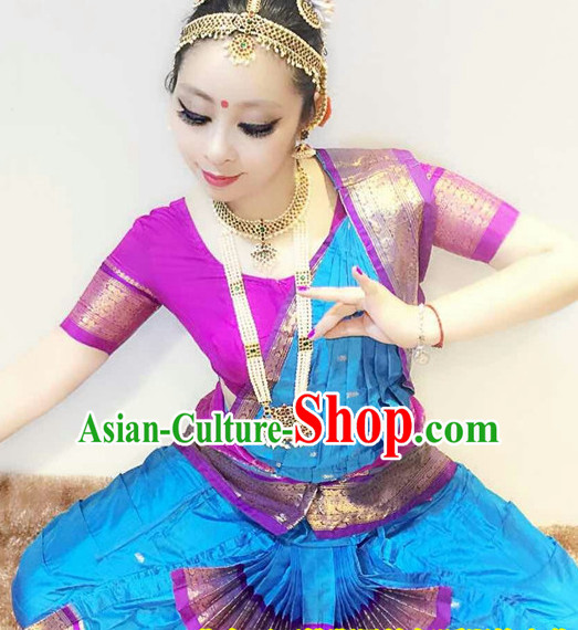 Indian Classical Folk Dance Dress Clothing Dresses Costume Classic Dancing Cultural Dances Costumes for Women