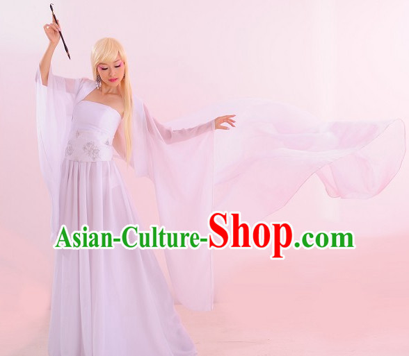 Ancient Chinese Fairy Costume Clothing Complete Set for Women