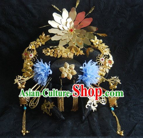 Tang Dynasty Imperial Royal Quene Phoenix Hairstyle Hairstyle Chinese Oriental Hairstyles