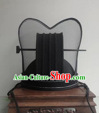 Handmade Chinese Ancient Style Official Court Hat Asian Headwear for Men