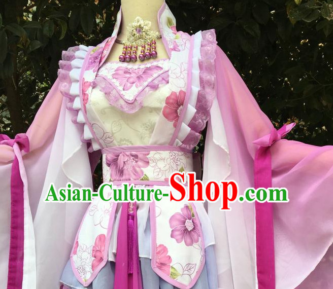 Chinese Traditional Cosplay Costumes Complete Set