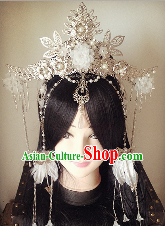 Chinese Traditional Lady Headpieces Hair Jewelry Set