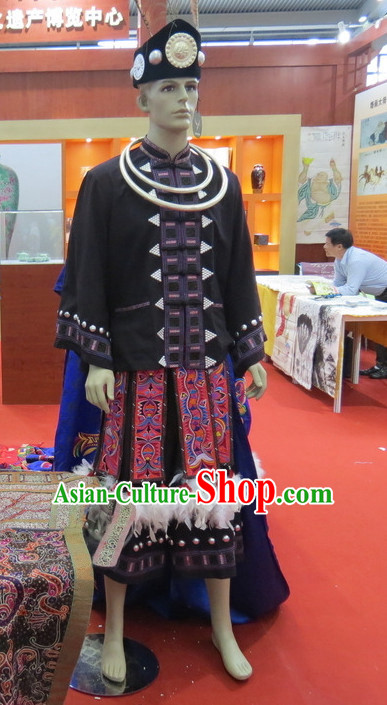 Traditional Ethnic National Costumes Complete Set for Men