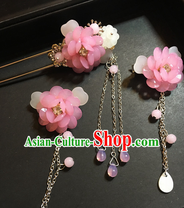 Handmade Chinese Female Hair Accessories Hair Ornaments Hair Pieces for Women