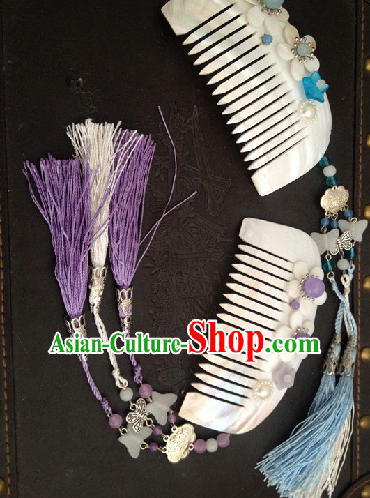 Handmade Chinese Fairy Comb Hair Accessories Hair Ornaments Hair Pieces for Women