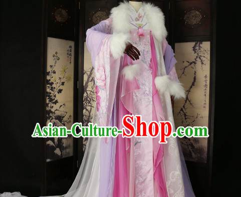 Ancient Chinese Queen Clothing Traditional Chinese Clothes Wedding Dresses Tangzhuang Queen Han Fu Complete Set for Women