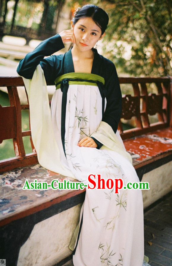 Ancient Chinese Clothing Chinese National Costumes Ancient Chinese Costume Traditional Chinese Clothes Complete Set for Women Girls