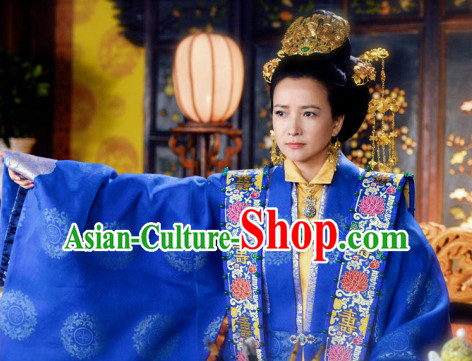 Chinese Traditional Wedding Ceremony Gold Hat Bridal Headwear