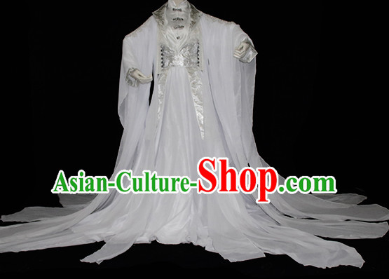 Ancient Chinese Fairy Style Costumes Imperial Princess Outfits Complete Set for Women